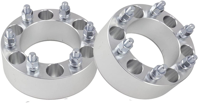 Wheel Spacers 2 Fit Isuzu Rodeo Aluminum Set Adapters 6x5.5 6 Lug Bolt Pickups