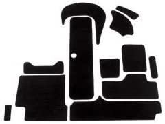 2000-2006 Sportster/LE/LT/LE DI / 2001 Challenger Interior Traction Mat Kit