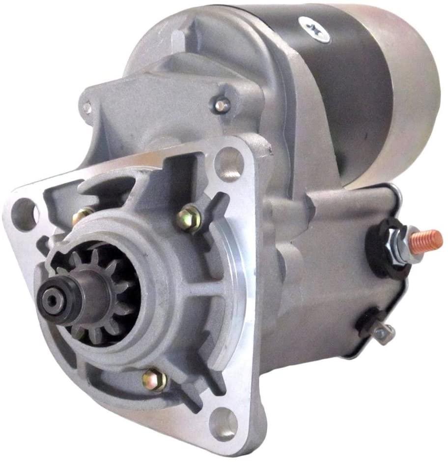 Rareelectrical NEW STARTER MOTOR COMPATIBLE WITH ISUZU EQUIPMENT 6BB1 ENGINE 1811001410 5811001180 8811002531