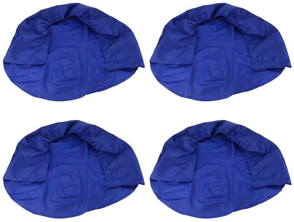 Wheel Tire Covers, 32 Inch Waterproof Tire Protectors for RV Auto Truck Car Camper Trailer (Blue)