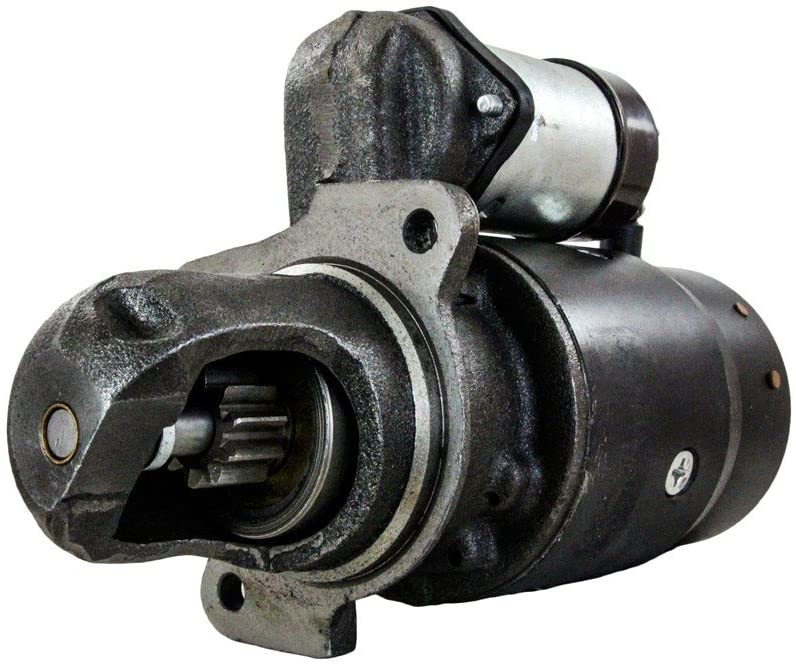 Rareelectrical NEW STARTER MOTOR COMPATIBLE WITH 1967-1972 INTERNATIONAL TRACTOR I-3850 C-263 GAS 91-01-4183