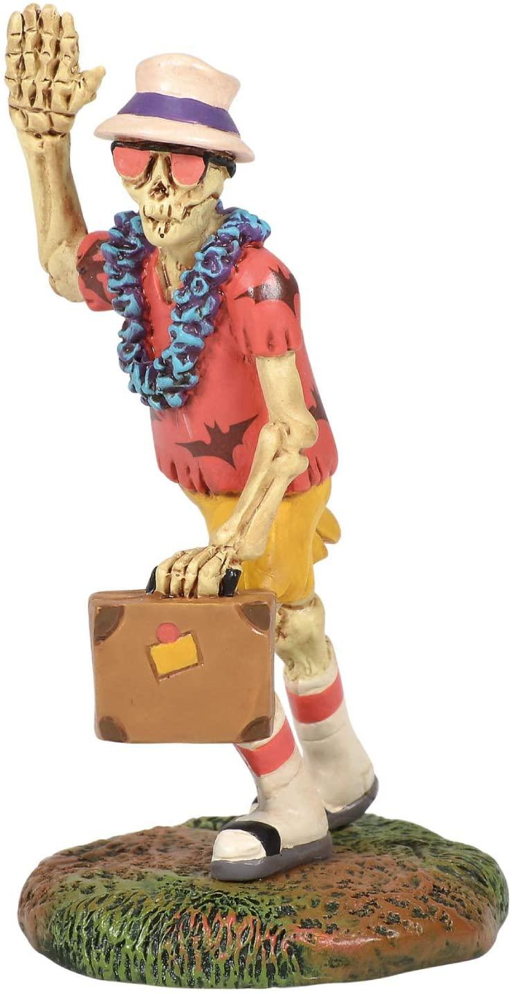 Department 56 Village Collection Accessories Halloween Bone Voyage Figurine, 3 Inch, Multicolor