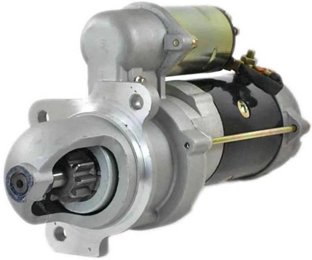 Rareelectrical NEW 12V 10T CW STARTER MOTOR COMPATIBLE WITH HYSTER CRANE KE KE-100 KERRY KRANE 0001367054
