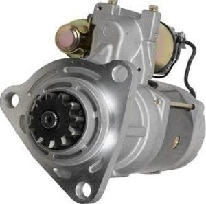 Rareelectrical NEW 12V 11 TOOTH STARTER MOTOR COMPATIBLE WITH PETERBILT 320 330 335 357 359 COMPATIBLE WITH CATERPILLAR 820090