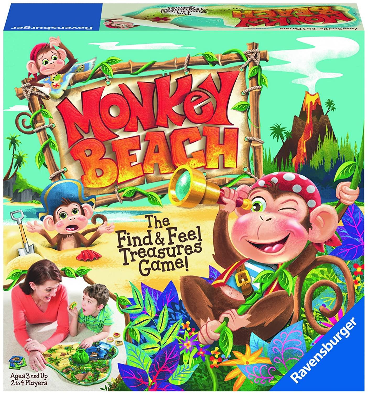 Ravensburger Monkey Beach Preschool Game