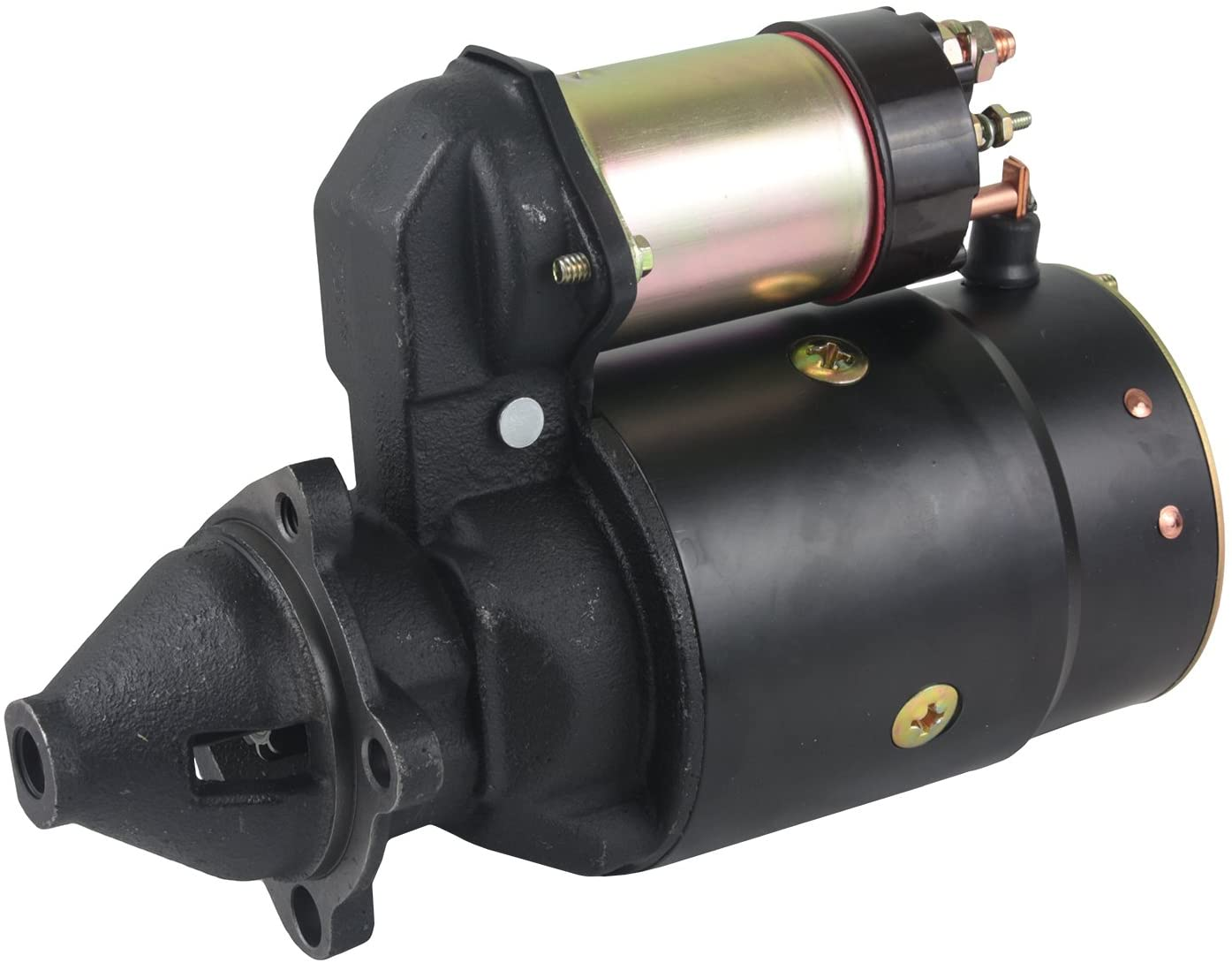 Rareelectrical NEW 12V STARTER COMPATIBLE WITH CHEVROLET TRUCK P10 SERIES 1963-67 10496877 1108385 1108481