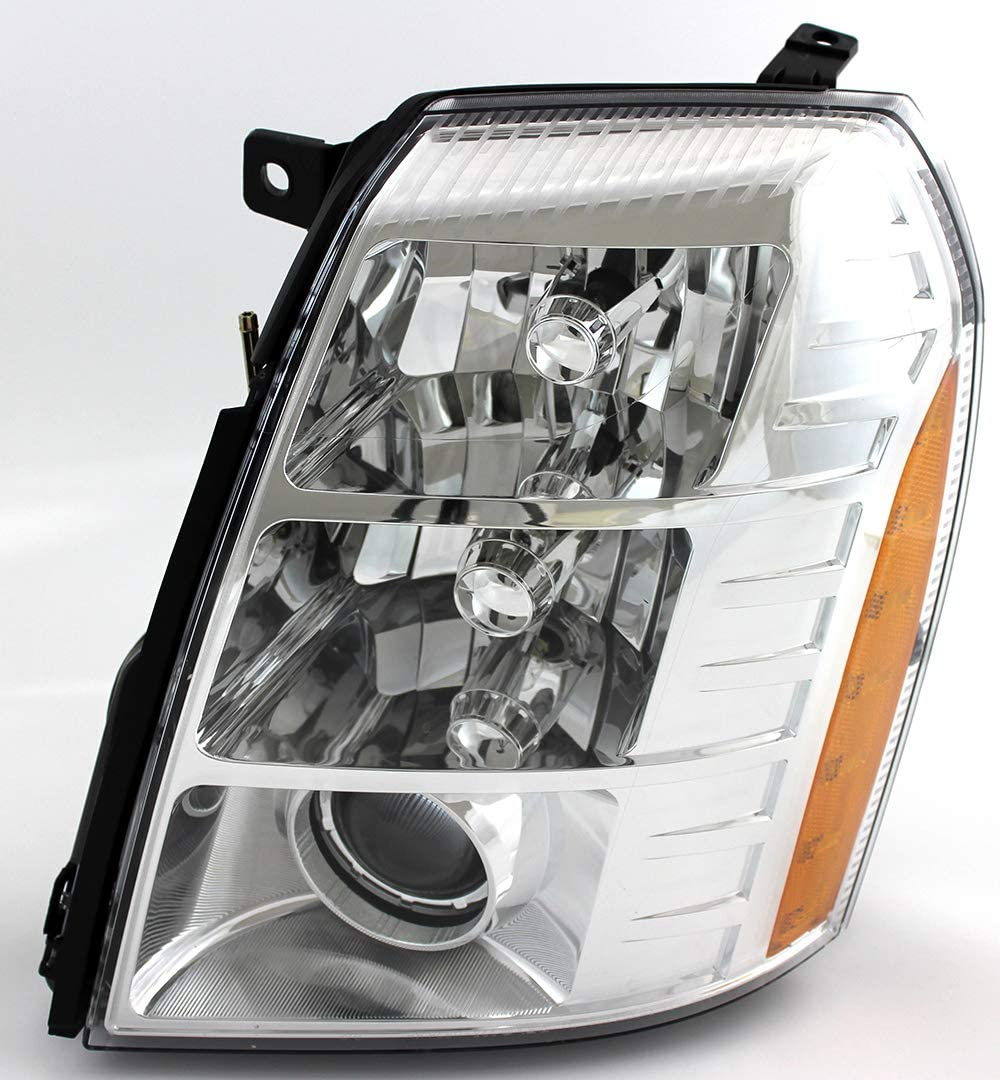 For Cadillac Escalade Headlight 2007 2008 2009 Driver Left Side Headlamp Assembly Replacement