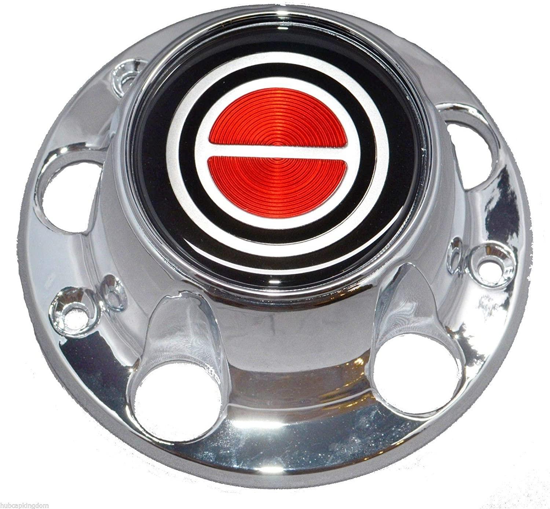 Gooogo 1980-1996 Bronco F150 F-150 Van Wheel Hub Center Cap Chrome RED Logo New with Screws (1)