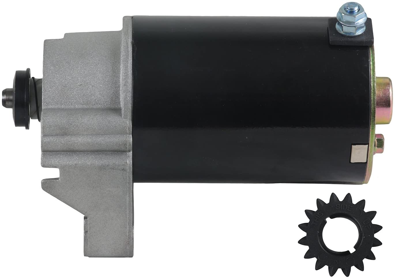 Rareelectrical NEW 16 TOOTH STARTER COMPATIBLE WITH BRIGGS AND STRATTON ENGINE 422435-0757-01 422435-1199-01