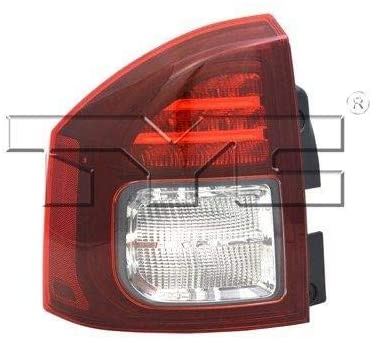 Go-Parts - for 2014 - 2014 Jeep Compass LED Tail Light - Left (Driver) 5272909AA CH2800204