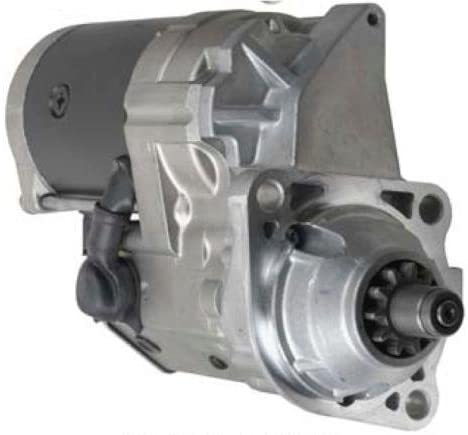 Rareelectrical NEW 24V STARTER MOTOR COMPATIBLE WITH JOHN DEERE EXCAVATOR TY24444 228000-6570 2280006570