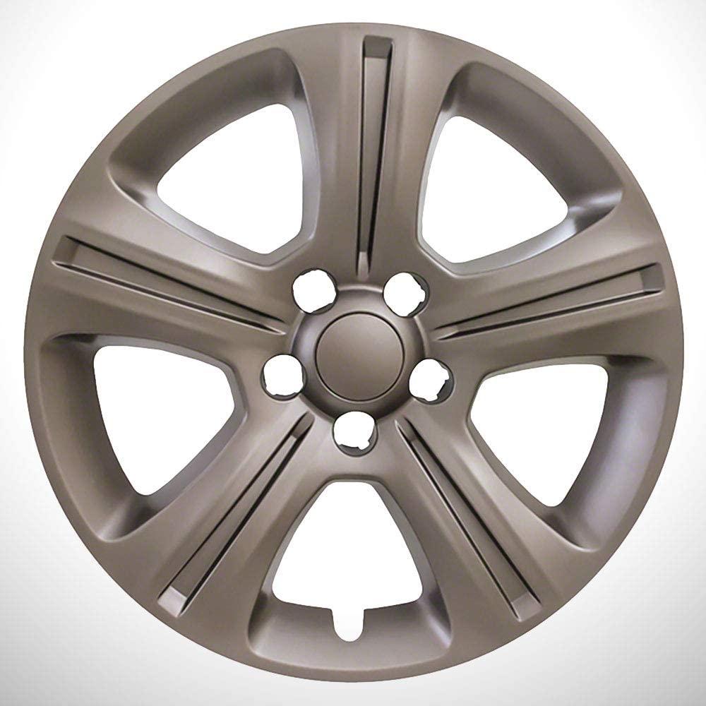 Elite Auto Chrome Brass 5 Split Spoke 17' Wheel Skins fit for 15-17 Dodge Charger SE