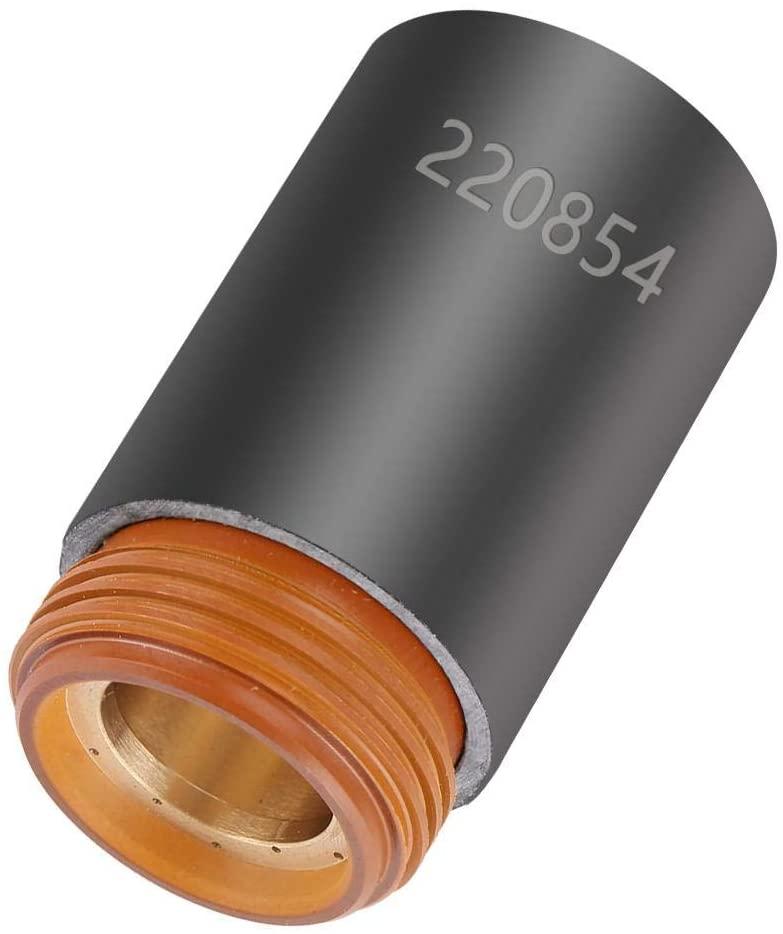 Plasma Cutter, 220854 Plasma Cutter Cutting Torch Consumables Retaining Cap for MAX105