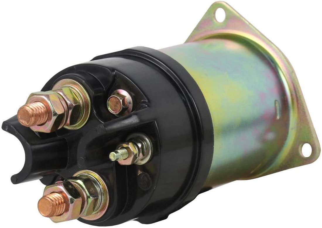Rareelectrical NEW 12V SOLENOID COMPATIBLE WITH CATERPILLAR TRACTOR - FARM D3B-SA 3204 1985-1987 SNLS-D37A