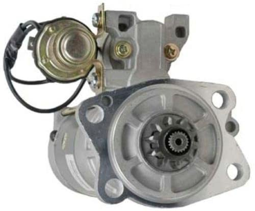 Rareelectrical NEW 24V 10T CW STARTER MOTOR COMPATIBLE WITH CATERPILLAR EXCAVATOR 320 320B 320BL 32B66-02102