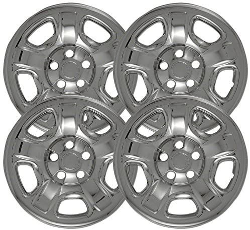Upgrade Your Auto 16 inch Chrome Wheel Skins 2002-2007 (Factory Fit) Set of 4 for Jeep Liberty