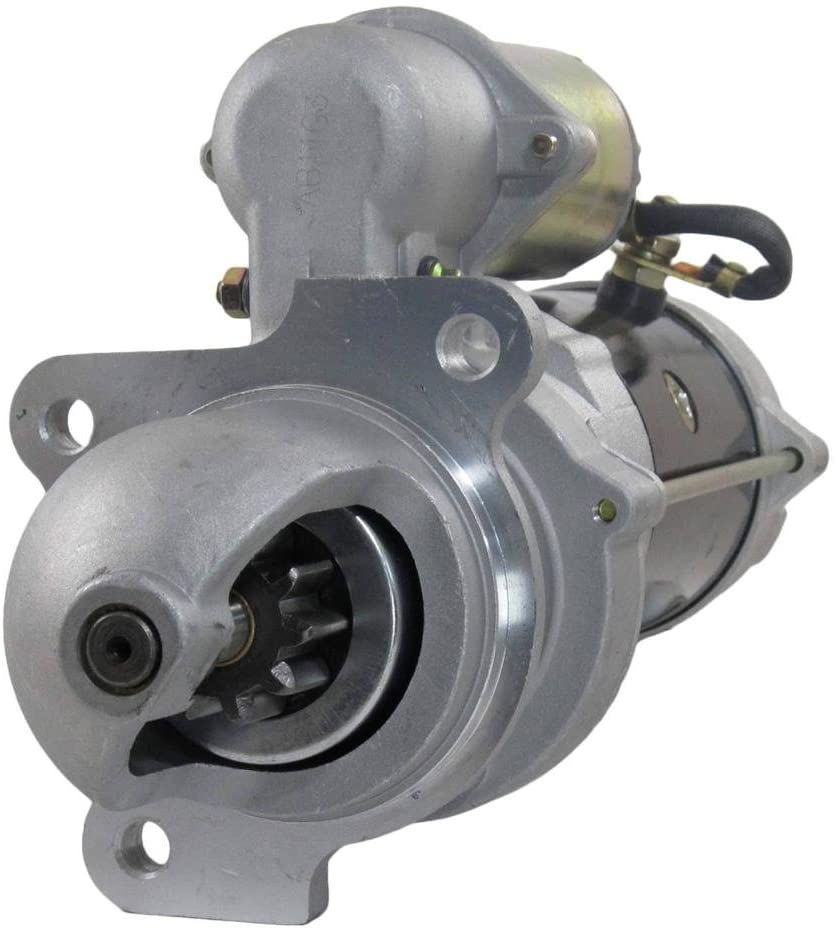 Rareelectrical New Starter Motor Compatible With Bobcat Articulated Loader 2000 Perkins By Part Numbers 10465349 10465349