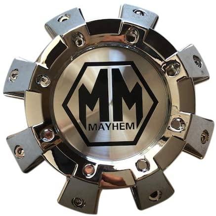 Mayhem Wheels 8101 Monstir C108101C01-F 813120825F-2 Chrome Center Cap