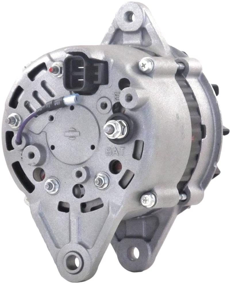 Rareelectrical NEW 12 VOLTS 40 AMPS ALTERNATOR COMPATIBLE WITH HITACHI LR240-38 LR240-38B LR24038 LR24038B 8970232630