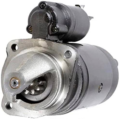 Rareelectrical NEW 12 VOLT 10 TOOTH CW STARTER MOTOR COMPATIBLE WITH FERMEC BACKHOE 760 1004.4TLR PERKINS