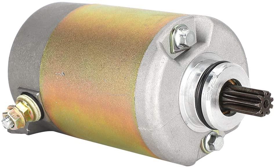 Qiilu Starter Motor, Motorcycle Starter Motor Fit for CN250/CH250/CFMoto 250/Kymco 250cc Engine