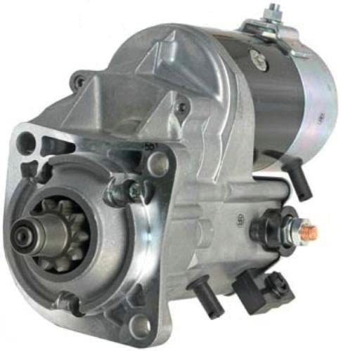 Rareelectrical NEW 24V 10T CW STARTER MOTOR COMPATIBLE WITH CATERPILLAR LOADER PERKINS ENGINE 2873K406