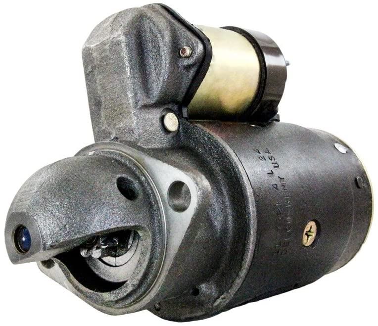 Rareelectrical NEW 12V 9T STARTER MOTOR COMPATIBLE WITH INTERNATIONAL HARVESTER 101 151 181 GAS 1230747