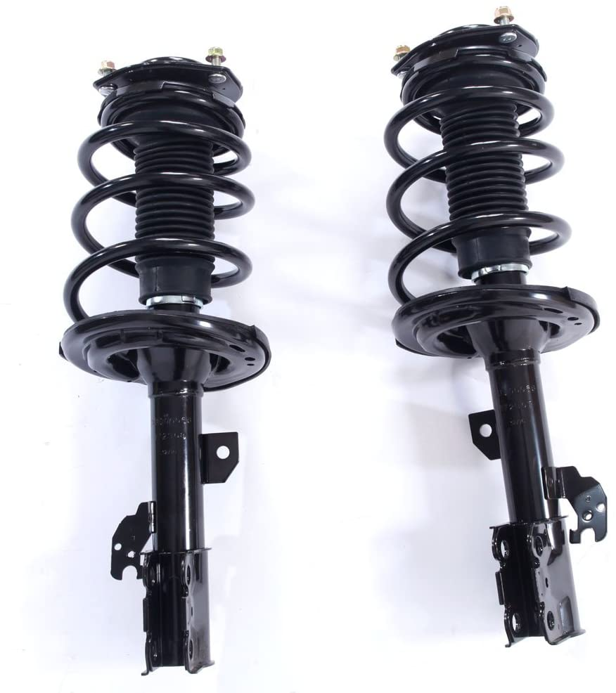 Pair Front Driver & Passenger Side Complete Strut & Coil Spring Assembly fit for 2007-2011 Camry,2006-2012 Avalon,2007-2009 ES350