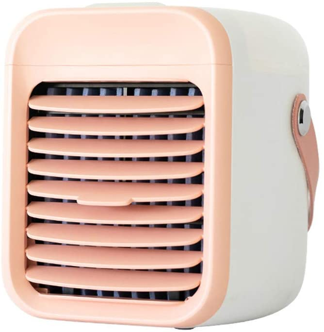 Makkalen Personal Air Cooler, Small Personal USB Air Conditioner Fan Desk Fan Mini Air Purifier Humidifier Cooling for Home Room Office