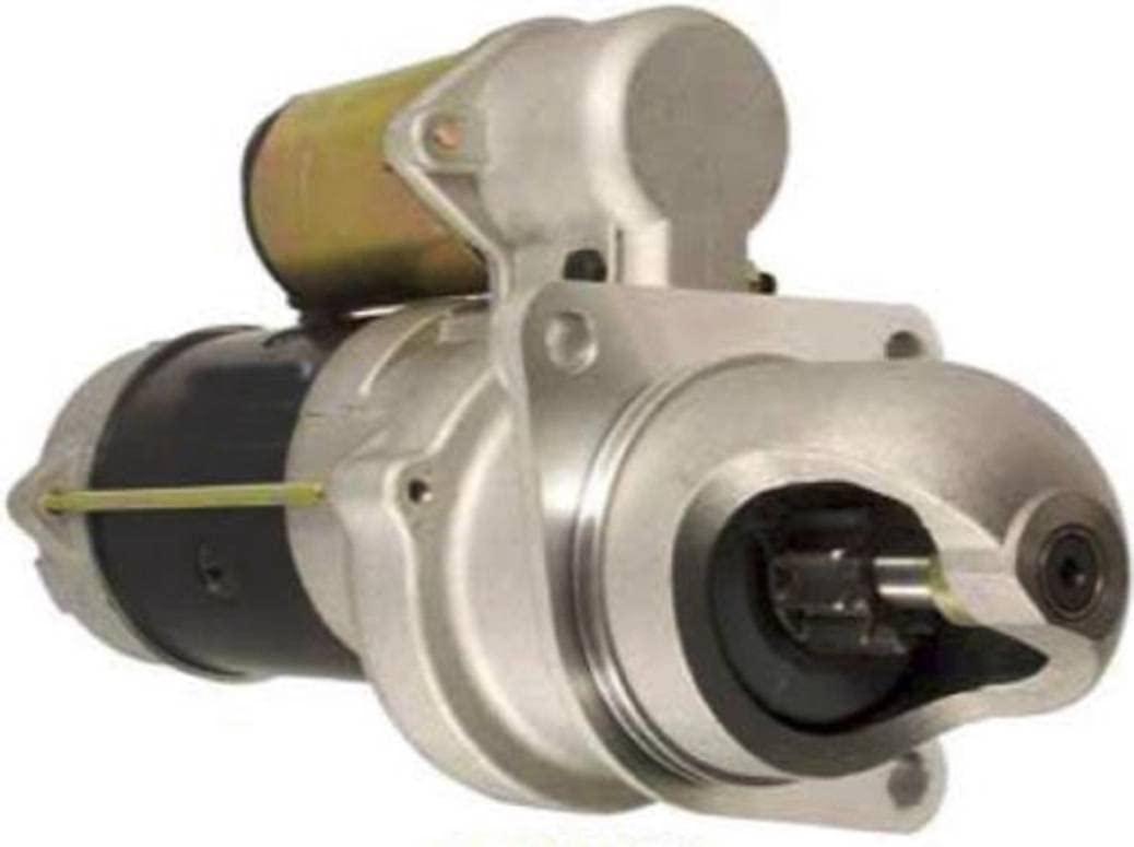 Rareelectrical NEW STARTER MOTOR COMPATIBLE WITH CASE LIFT TRUCK 530CK 584D 585C 585D 586C 586D 104202A1 A39839