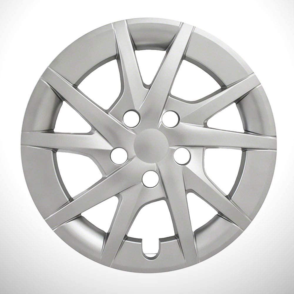 Elite Auto Chrome Silver 10 Spoke 16' Wheel Covers fit for 2012-2017 Toyota Prius V