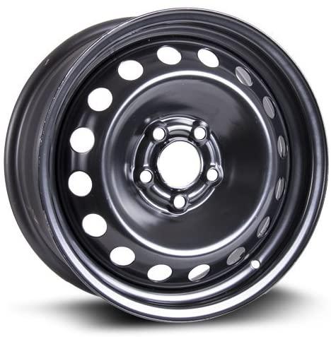 RTX, Steel Rim, New Aftermarket Wheel, 16X6, 5X108, 65.1, 43, black finish X40837