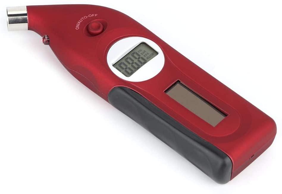 Tire Pressure Sensor, Mini Digital LCD Display Car Tire Diagnostic Calibrator Pressure Gauge Tool