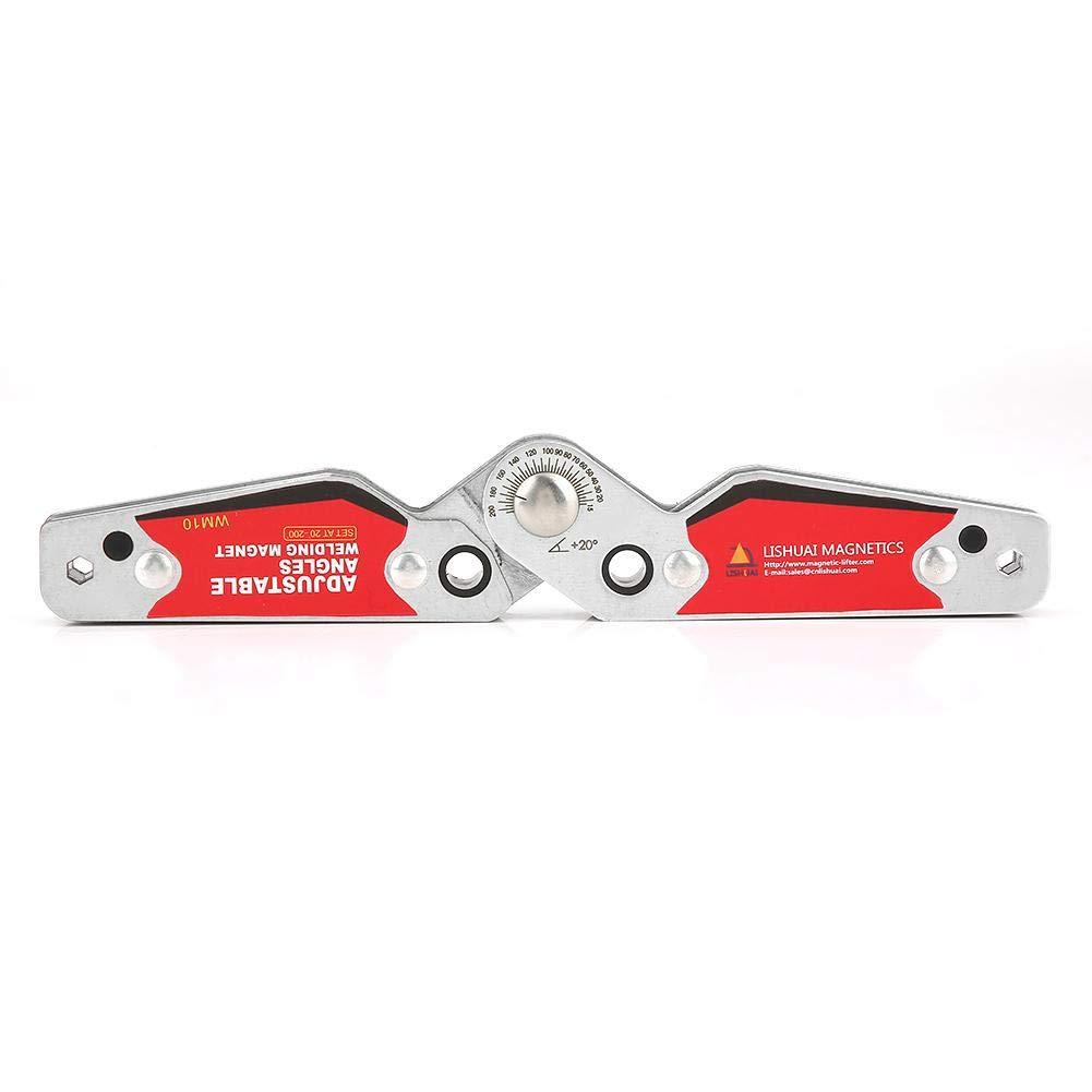 Welding Holder Welding Magnets,20°-200° Adjustable Angles Welding Magnet Magnetic Welding Holder Welder Tool Accessories, Magnetic Welding Positioner