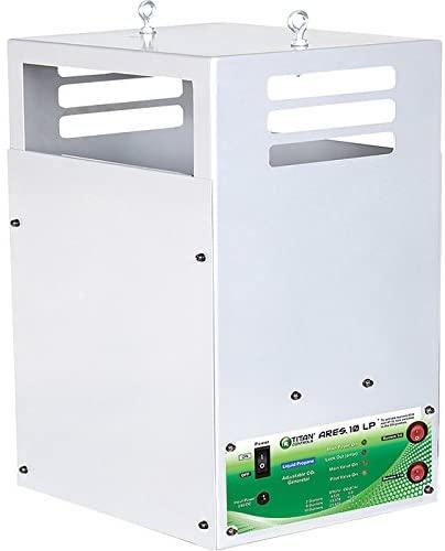 Sunlight Supply Titan Controls Ares 10 LP CO2 Generator � 10 Burners, 22,630 BTUs