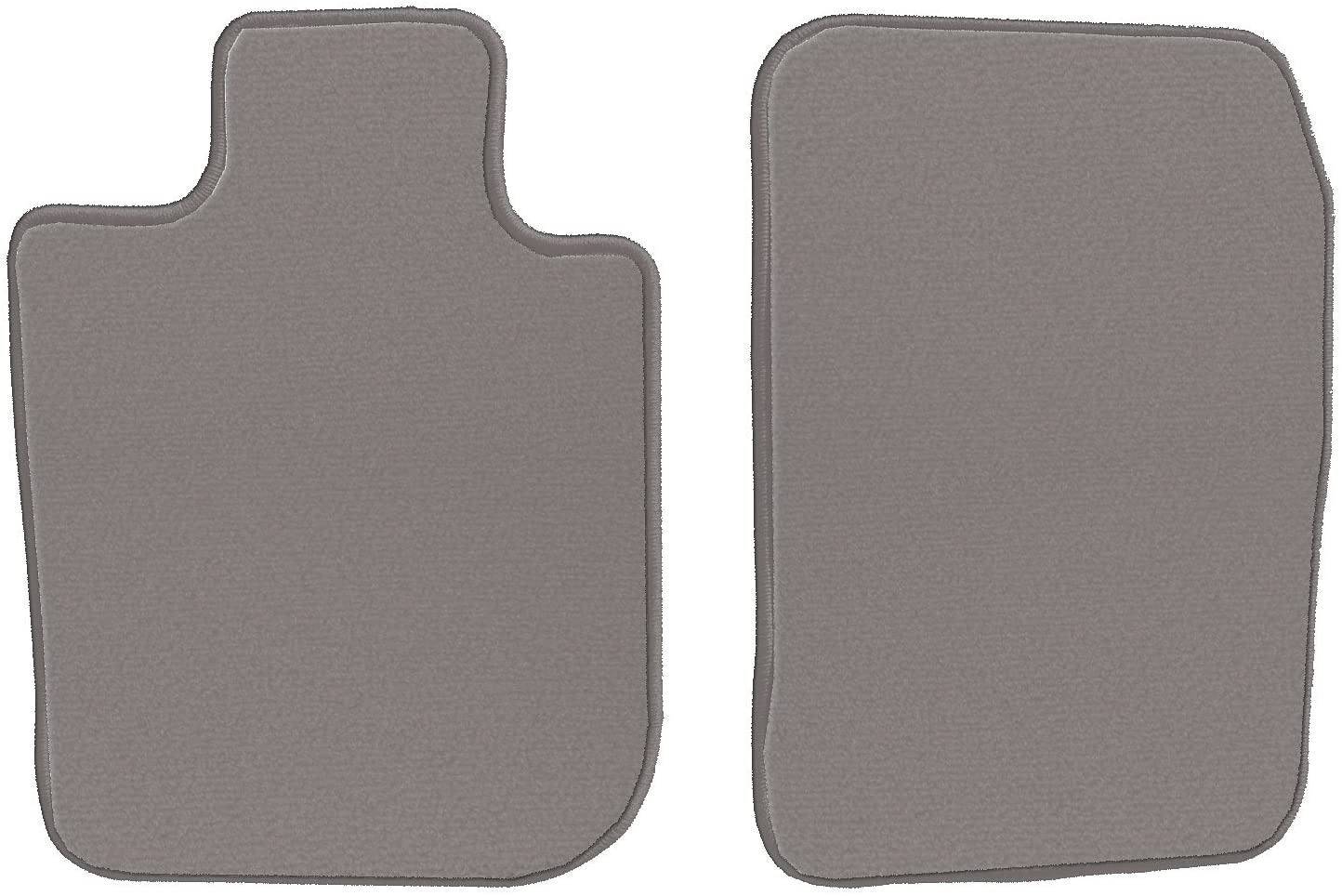 GGBAILEY Grey Loop Driver & Passenger Floor Mats Custom-Fit for Porsche 911 1994-1997