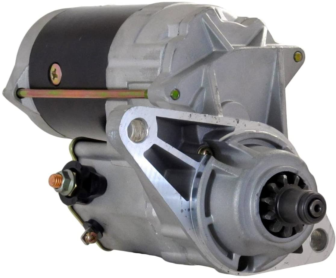 Rareelectrical NEW STARTER MOTOR COMPATIBLE WITH ISUZU TRUCK MPR MODELS 4.8L 4HE1 ENGINE 8971477782 97147778