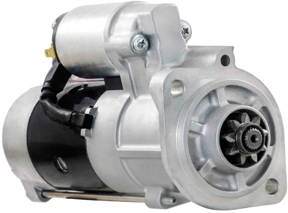 Rareelectrical NEW STARTER MOTOR COMPATIBLE WITH TAKEUCHI COMPACT TRACK LOADER TL230 WITH V2403 1G777-63010 1G777-63010 1G777-63011 1G777-63012 1G777-63013 1G77763010 1G77763011 1G77763012 1G77763013
