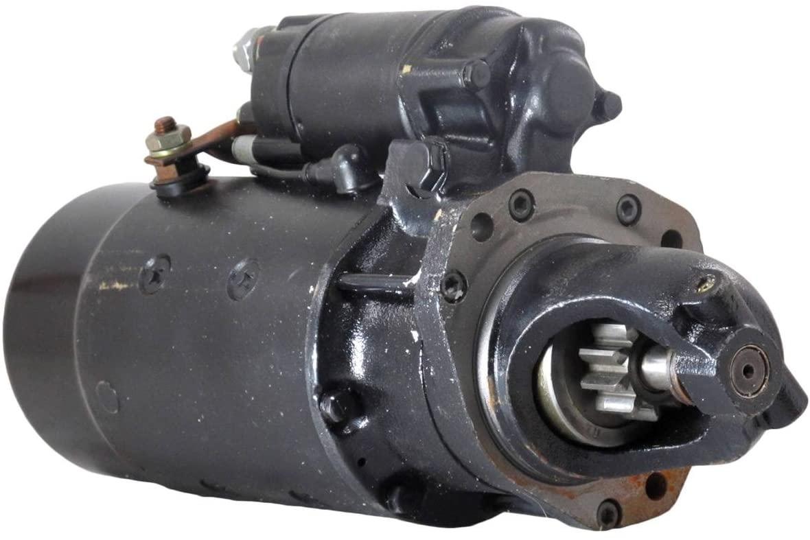 Rareelectrical 24V NEW STARTER MOTOR COMPATIBLE WITH JOHN DEERE FELLER BUNCHER 493D 4045 DIESEL TY6687 TY6718