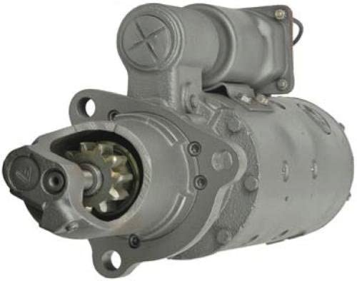 Rareelectrical NEW STARTER MOTOR COMPATIBLE WITH CATERPILLAR TRACK LOADER 983 4N3387 6V0588 1109793 1990238