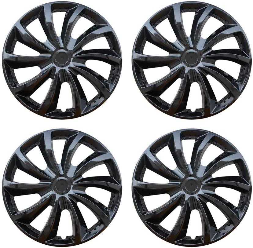 MHUI Car Wheel Trims Hubcaps Wheel,13/14/15inch, Suitable for Car Wheel Cover Car Modification Parts(4Pcs),15inch