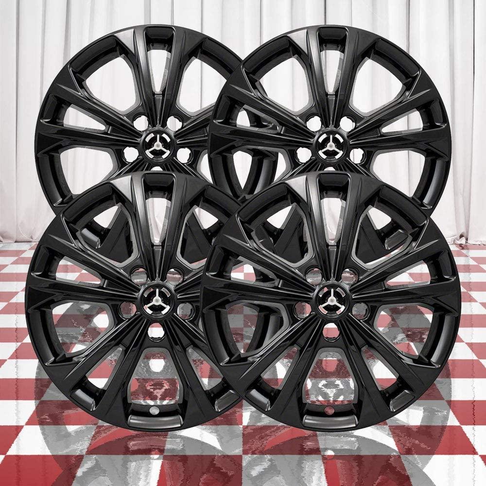 Brighter Design Set of 4 Black 5 Double Spoke 17