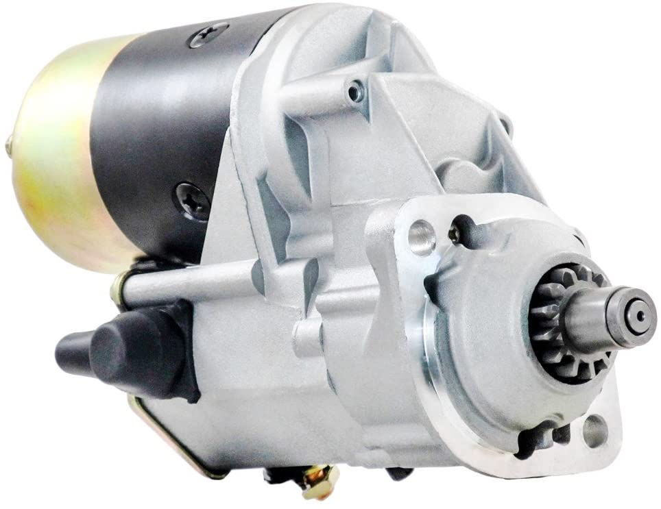 Rareelectrical NEW STARTER MOTOR COMPATIBLE WITH ELGIN SWEEPER WHITE WING 4276 DEERE 6632415, SR9975X, 2355695, RE19275, RE41799 RE51447, RE51694, TY25971, TY6688, TY6719 028000-8400, 028000-8401,