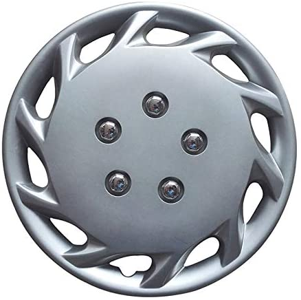 JD Auto 1PC 14 inch Hubcap fits for 1997-1999 Toyota Camry - New Wheel Cover 14in Hub Caps Silver Rim Cover 61088 877-14s