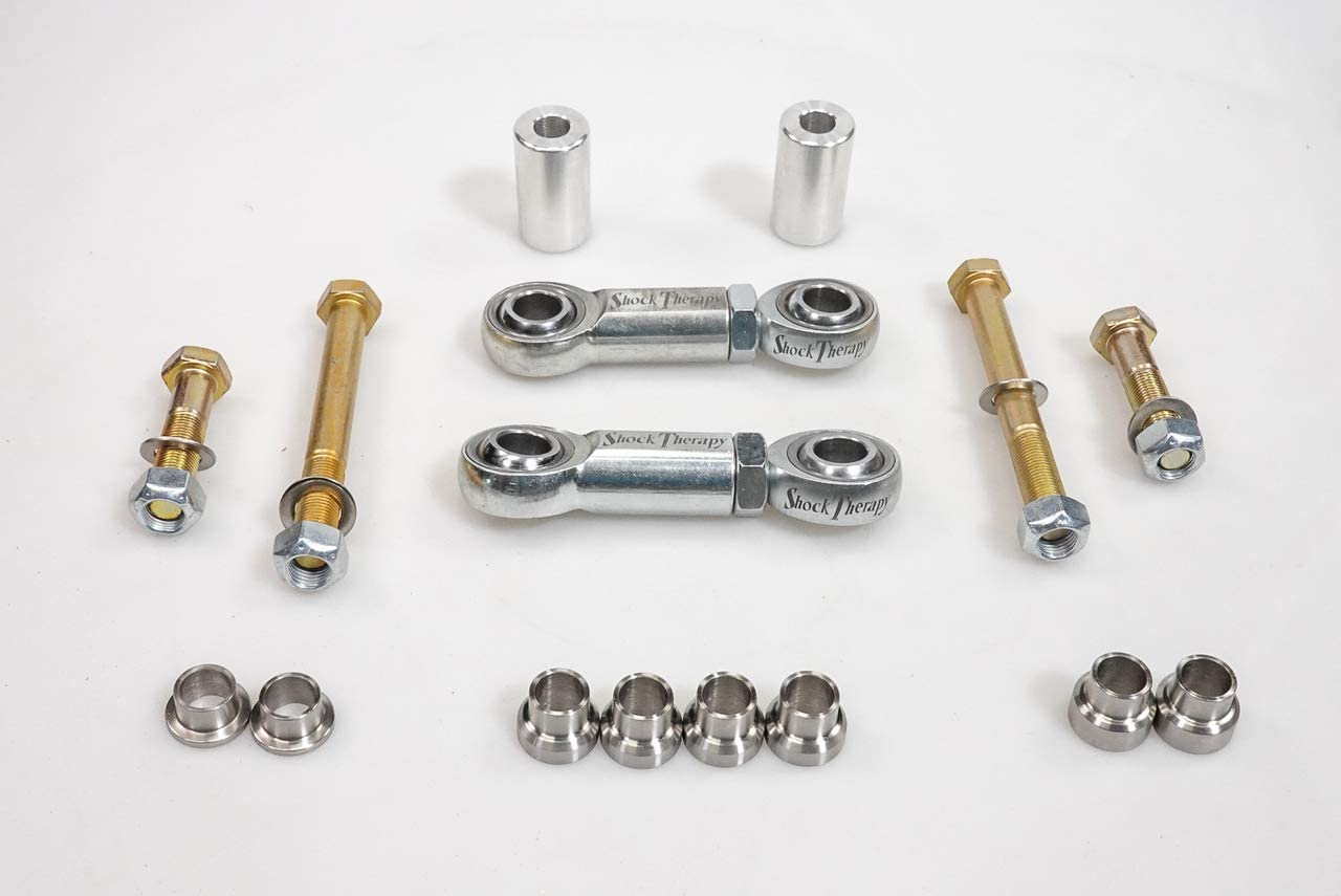 Shock Therapy adjustable front sway bar links for Can Am Maverick X3 - All 72