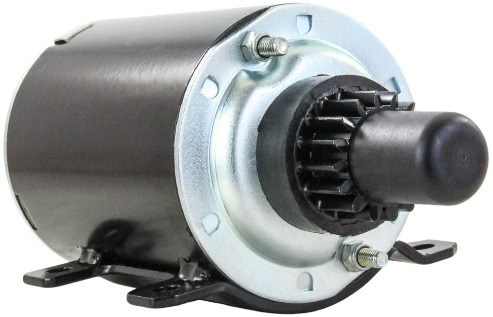 Rareelectrical NEW STARTER MOTOR COMPATIBLE WITH JOHN DEERE TECUMSEH AIR COOLED ENGINE HM 70 80 90 100 AM30931