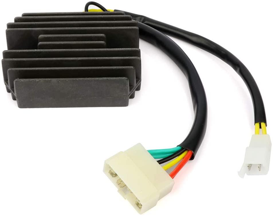 ZENITHIKE 31600-MG9-951 31600-ML8-305 Voltage Regulator Rectifier Compatible with 1985-1986 H-onda Goldwing 1200