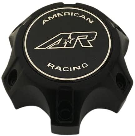 American Racing Wheels CARA1456CH Black Wheel Center Cap