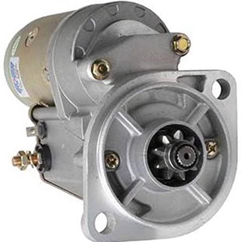 Rareelectrical NEW STARTER COMPATIBLE WITH JOHN DEERE INDUSTRIAL SKID STEER LOADER 24A 128000-0021 128000-0022 128000-0960 128000-2880