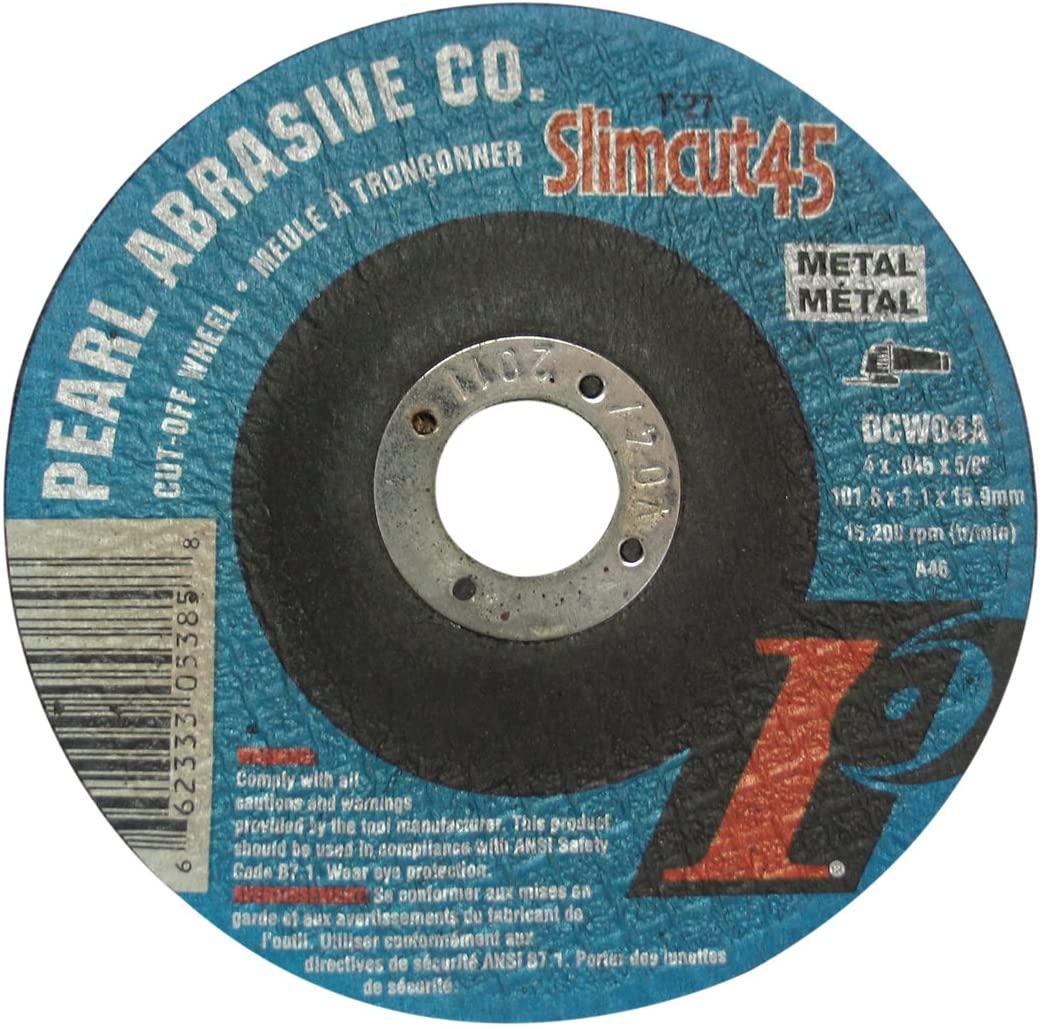 Pearl Abrasive DCW04A 4-Inch by .045-Inch by 5/8-Inch Thin Cut-Off Wheels